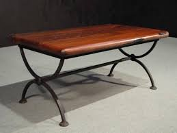 ... Awesome Wrought Iron Wood Coffee Table For Home Remodeling Ideas With  Wrought Iron Wood Coffee Table ...