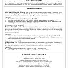 Resume For Nurses Resume Builder For Nurses Examples Templates Nurse Practitioner 47