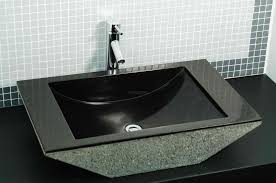 sink top stone vessel bathroom sink beautiful home design photo to home design awesome stone