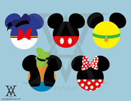Mickey Mouse Clubhouse logo clipart vector. INSTANT
