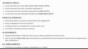 Oracle Pl Sql Developer Resume Therpgmovie