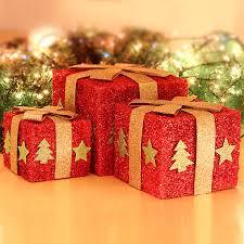 Decorative Holiday Boxes Buy Masi christmas decorations christmas tree scene layout 63