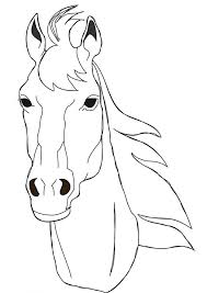 Small Picture Horse head coloring pages All The Pretty Horses