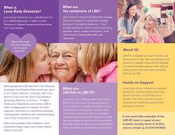 Dementia Resource Lewy Brochure Center Body -