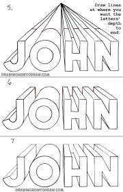drawing drawing 3d alphabet letters d alphabet letters how to jpg