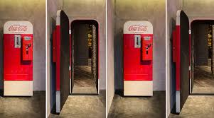 Vending Machine Trends Fascinating Cool Speakeasy Inside Of A Coke Vending Machine New Trend The