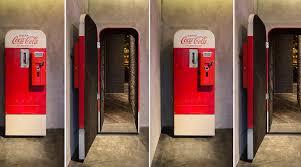 Inside Vending Machine Enchanting Cool Speakeasy Inside Of A Coke Vending Machine New Trend The