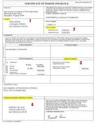 Sample Copy Of Certificate Of Insurance Copy Certificate Insurance ...
