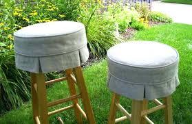 vinyl bar stool covers round target padded elastic black foam cushion large seat outdoor cushions