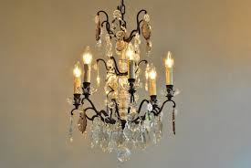 antique crystal chandeliers value