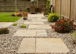 how to lay stepping stones on gravel in