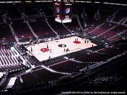 Portland Memorial Coliseum Detailed Seating Chart Portland Trail Blazers Seating Chart Www Bedowntowndaytona Com