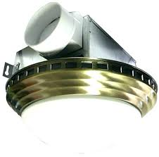 decorative bathroom exhaust fan light combo bath shower antique brass ceiling lightning in a bottle s