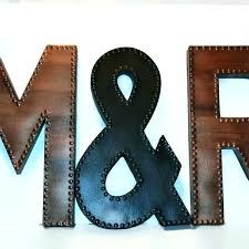 large letters for wall large metal letters alphabet letters wall decor metal alphabet letters wall decor