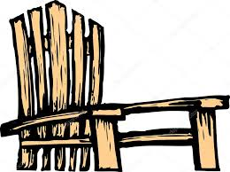 adirondack chair vector. Modren Vector Adirondack Chair U2014 Stock Vector Inside A