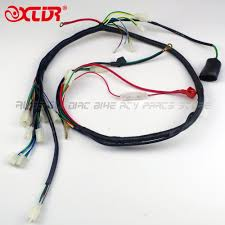 online buy whole complete wiring harness from complete engine wiring harness wire loom for gy6 125cc 150cc quad bike atv buggy atomik round 6pin