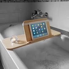 Bath Tray Wooden Bath Caddy Bathtub Tray Tablet Holder Tublet Tublet