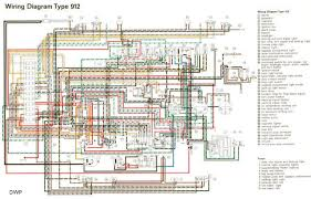 porsche technical manuals 912 porsche electrical wiring diagram 1965 1968