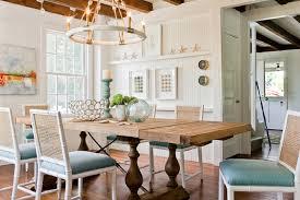 Reclaimed Wood Dining Table Cottage dining room Jennifer Palumbo