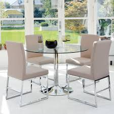 Palermo dining table medium clear
