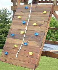 swingset climbing wall rock wall kit swing set with slide and climbing wall playset climbing wall