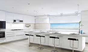 gourmet kitchens inside aqualuna las olas luxury waterfront condos in fort lauderdale florida 33301
