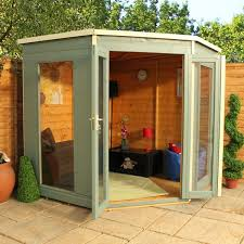 outside office shed. 7 x waltons premier corner summerhouse backyard shedsgarden outside office shed