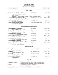 Latex Resume Template Graduate Student Best Of Academic Resume