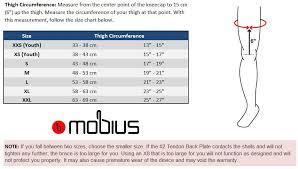 Mobius X8 Size Chart Mobius X8 Kids Knee Brace Set Shop Now