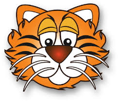 tiger face clipart black and white. Modren Black Free Tiger Clipart 1281161 License Personal Use For Face Black And White