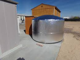 he infrastop insulation used to insulate 1500 gallon outdoor water tank