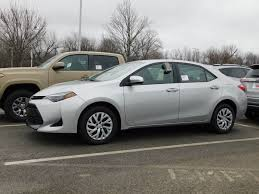 2018 New Toyota Corolla LE CVT at Toyota of Fayetteville Serving ...