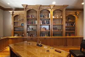 wood office cabinets. Alder Wood Office Cabinetry With Detailed Crown And Glass Covered Counter Tops Cabinets E