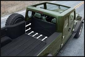 2018 jeep gladiator trunk