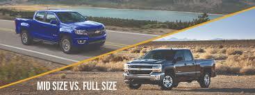 Full-size vs. Mid-size Pickup | Markquart Motors