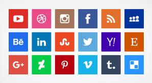 social media icons 2016. 20 free vector flat social media icons 2015   ai + 1024 pngs 2016