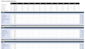 Online Free Budget Planner Free Budget Templates In Excel For Any Use