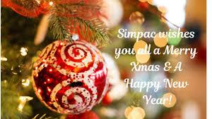 Merry Xmas & a Happy New Year! - SIMPAC