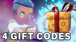 4 NEW GIFT CODES | Mystery Gifts ▻ Pokemon Sword & Shield - YouTube