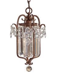 f2474 1mbz 1 light mini duo chandelier mocha bronze intended for most
