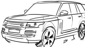 Range rover sport drawing new 2013 range rover speculatively rendered range rover