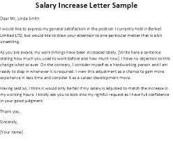 Salary Increase Proposal Sample Pay Raise Sample Letters Excel Salary Increase Template