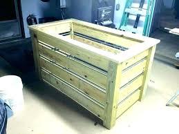 wooden garbage box wood trash can holder outdoor kitchen garbage storage octagon box wooden cans bin wooden garbage box