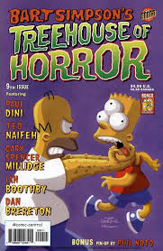 Bart Simpsonu0027s TREEHOUSE Of HORROR  The Simpsons Collectibles Bart Treehouse Of Horror