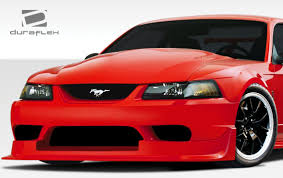 99-04 Ford Mustang Duraflex CBR500 Wide Body Front Bumper 1pc Body ...