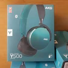 Tai Nghe Bluetooth Samsung AKG Y500 Chính Hãng, Loại Chụp Tai, Màu Xanh  Ngọc, Chất Âm Tốt, Giá Siêu Rẻ