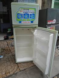Tủ lạnh TOSHIBA 140 lít có chở và bảo hành tủ quạt giá 1.500.000đ - Hồ Chí  Minh