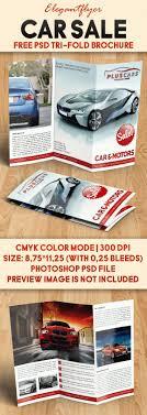 Car Sale Free Brochure Psd Template