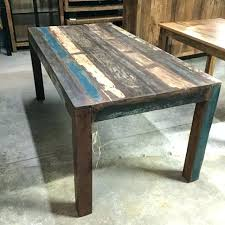 Homemade Dining Room Table Beauteous Diy Reclaimed Wood Dining Table Fieke
