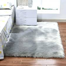 fancy fur rugs for sheepskin rug faux excellent white